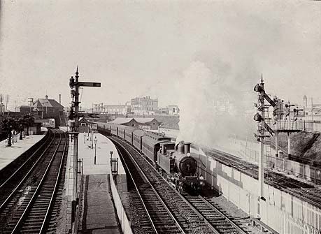 1855 first NSW railway line opened. The 22km 'Great Trunk Line' operated from Sydney (Redfern) to Parramatta .