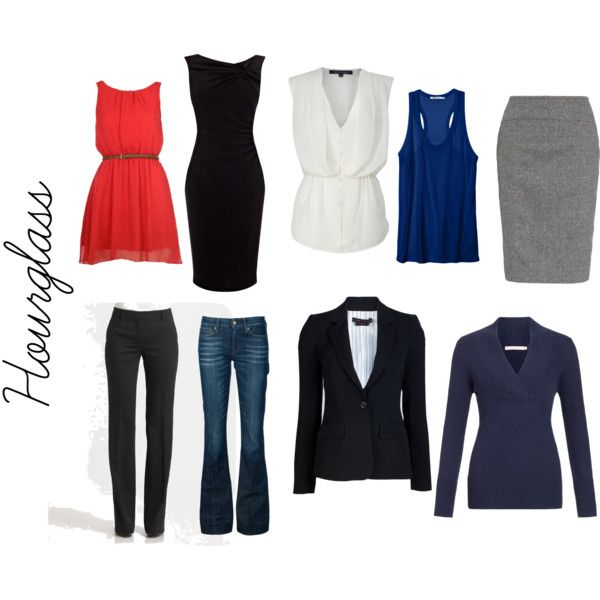 Hourglass Figure by carissa-bosman-schikkerling on Polyvore featuring Coast, John Lewis, T By Alexander Wang, French Connection, Alice +…