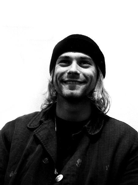 Kurt Cobain still hurts when i hear him especially when i see pics of his beauty his  smile
