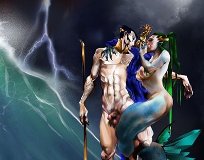 "Check out new work on my @Behance portfolio: ""NAMOR: Storm"" http://be.net/gallery/37172219/NAMOR-Storm"