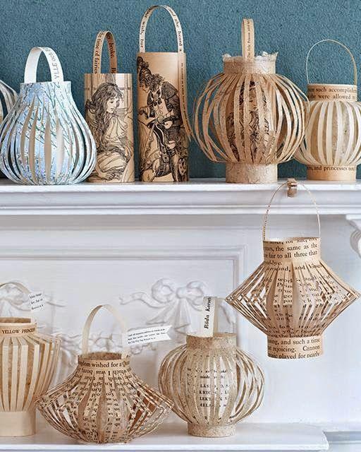 Vicky's Home: Diy farolillos y guirnaldas de papel / Diy paper lanterns                                                                                                                                                      Más