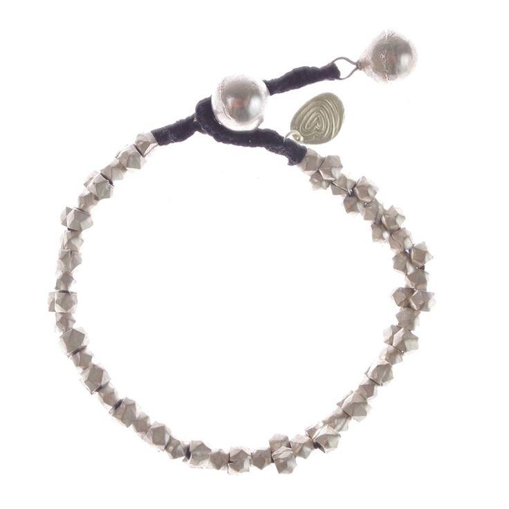 A Beautiful Story sieraden | Studio Art Styles  | Armband | Avanti Silver bracelet | handcut beads in a beautiful setting