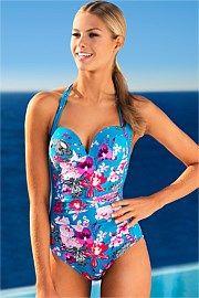Expozay Halter Swimsuit $79 size 12 waitlist - 3-4 weeks