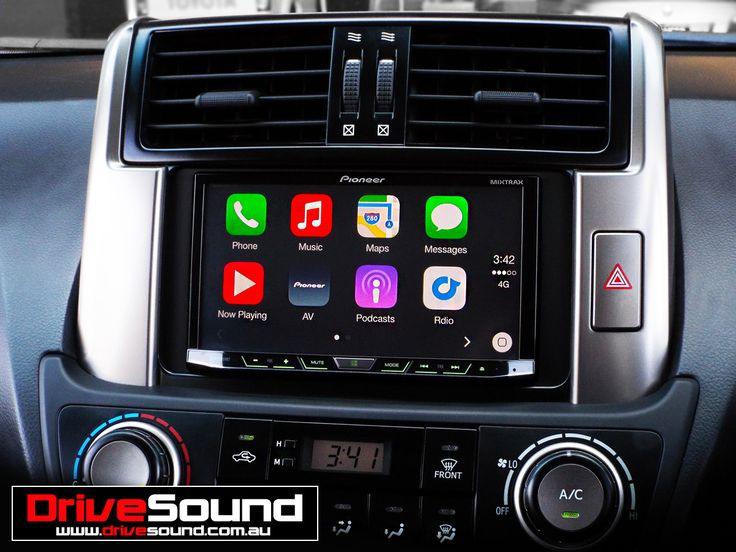 Toyota Prado with Apple CarPlay installed by DriveSound