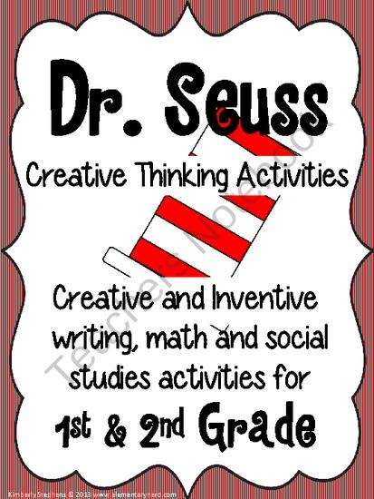 Dr. seuss writing activities second grade