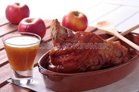 Receta de codillo con salsa de manzana | EROSKI CONSUMER