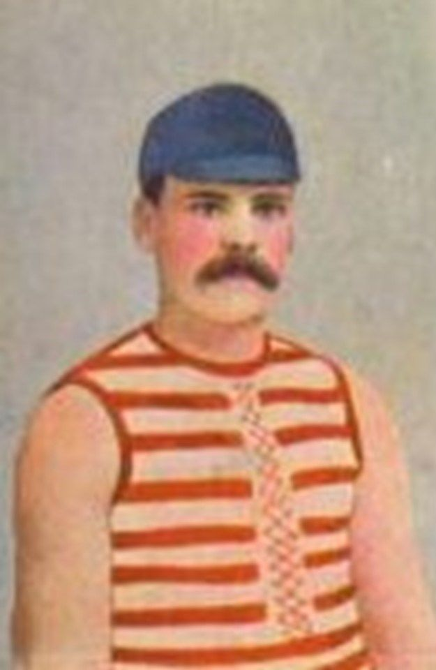Peter Burns. Played 1897-1902. Games South Melbourne (VFA) then Geelong 89. Premierships South Melbourne 1885, 1889, 1890, 1891.