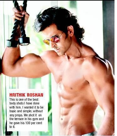 Hrithik Roshan has done another super photo shoot with most famous photographer 'Dabboo Ratnani' for Dabboo Ratnani's Calendar 2012.