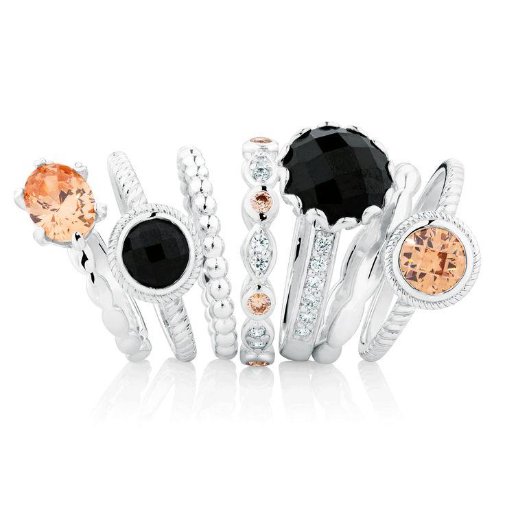 New season #emmaandroe #autumn #jewelry #stackrings #charms