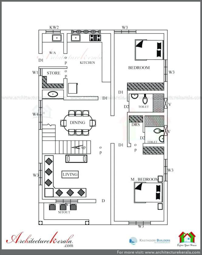 Image Result For 2500 Sq Ft Ranch House Plans West Facing House 2bhk House Plan Indian House Plans