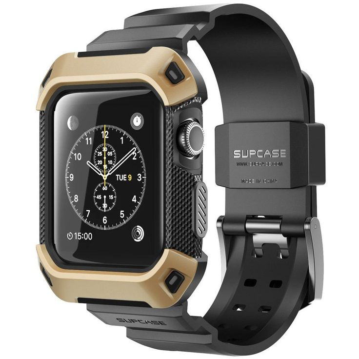 Apple Watch 42 mm Case Cover iWatch 2 Bumper Shell Strap Bands Rugged Hard Gold   Cell Phones & Accessories, Cell Phone Accessories, Cases, Covers & Skins   eBay!
