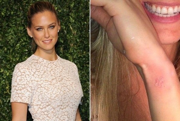 Bar Refaeli's Butterfly - The 50 Most Stylish Celebrity Tattoos - Photos