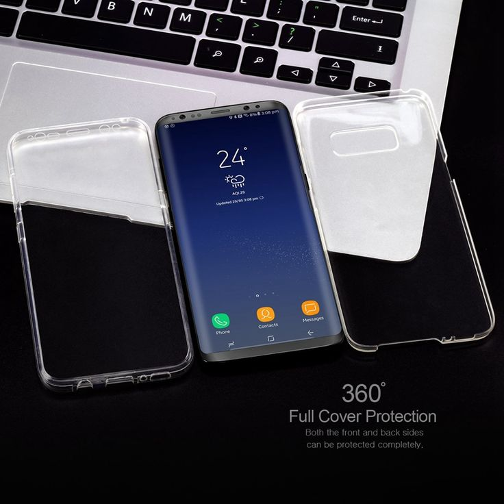 Full Body Clear Touch Screen Case For Samsung Galaxy Note 8