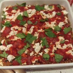 Dinner - Slendier Slim Lasagne