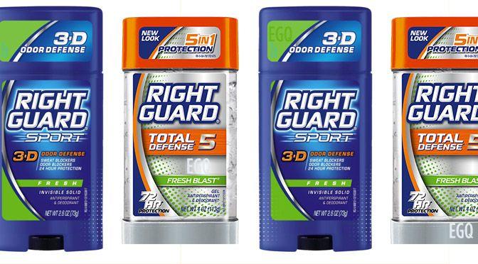 Coupon rabais déodorisant Right Guard