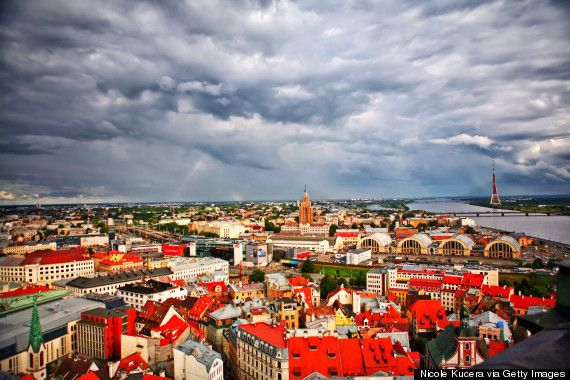 Riga, Latvia. Named a European Capital of Culture for 2014, this destination is still an inexpensive place to visit.