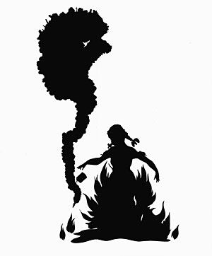 Kara Walker -- An amazing silhouette artist, who conveys an amazing story