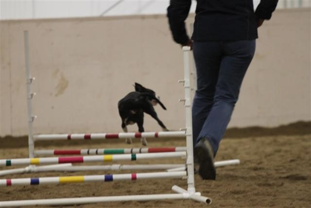 A side ways jump!