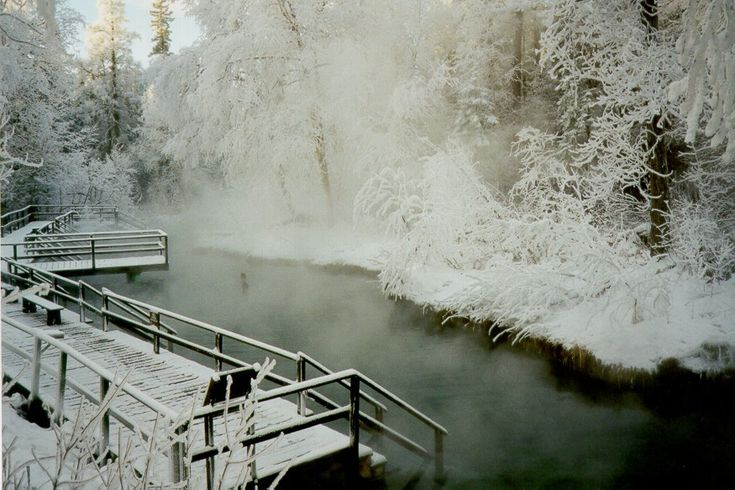 great road trip destination - laird hot springs bc