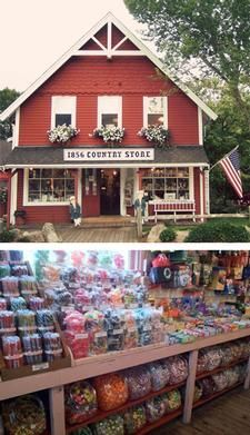 """Cape Cod Daily Deal with The 1856 Country Store. Our family has owned the """"Penny Candy Store"""" since the 1970's. We still serve the community by being the local Mom & Pop store for newspapers, candy, and gifts. There is no need to get in your car and drive """"into town"""", just take a beautiful walk down Main Street, Centerville, if you find yourself with a sweet tooth or needing to purchase a birthday present or hostess gift."""