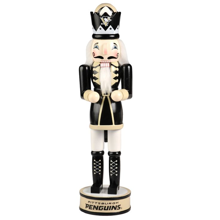 Forever Collectibles NHL Pittsburgh Penguins 14-inch Collectible Nutcracker
