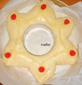 Pasteles de colores: Roscon corona de Reyes
