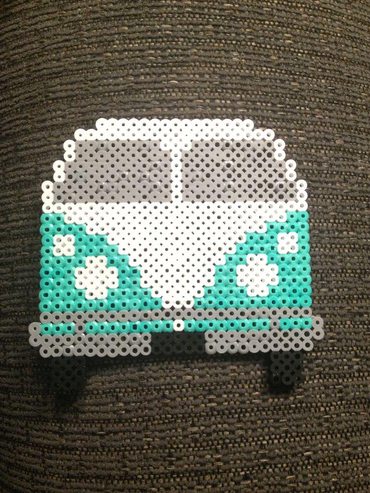 Old Volkswagen Van 🚘 | My Perler Beads | Pinterest | Pearler beads, Beads and Perler beads