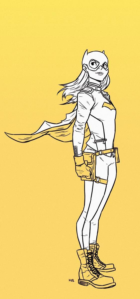 Koi Carreon batgirl