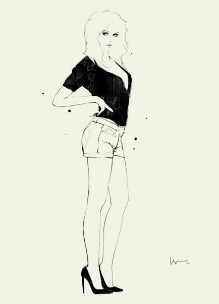 shu84: Floyd Grey Fashion Illustrations Part 2: Fashion Illustrations