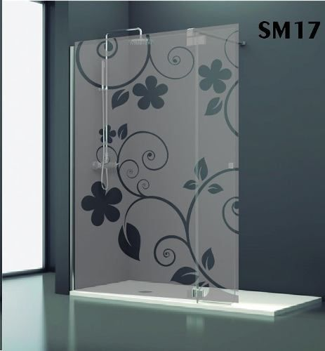 vinilo esmerilado baño vidrios ventanas mamparas film deco!