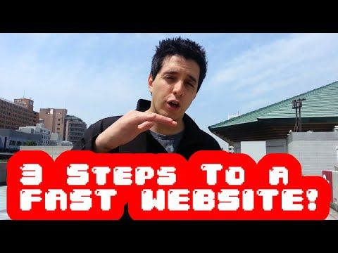 3 Steps For a Fast Loading Website - YouTube