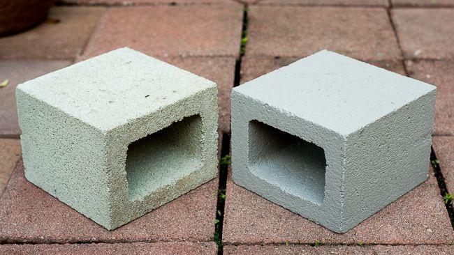блоки в интерьере