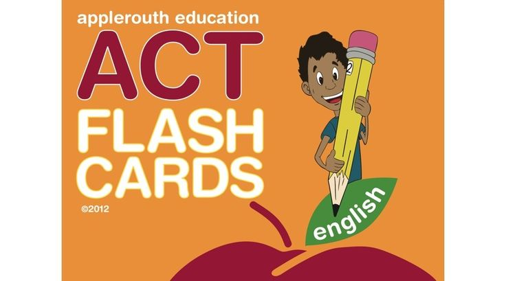 ACT English Flash Cards   Applerouth Tutoring Services  #ACT #Tutoring #College #CollegeAdmissions #English #Study #TestPrep #ACTPrep