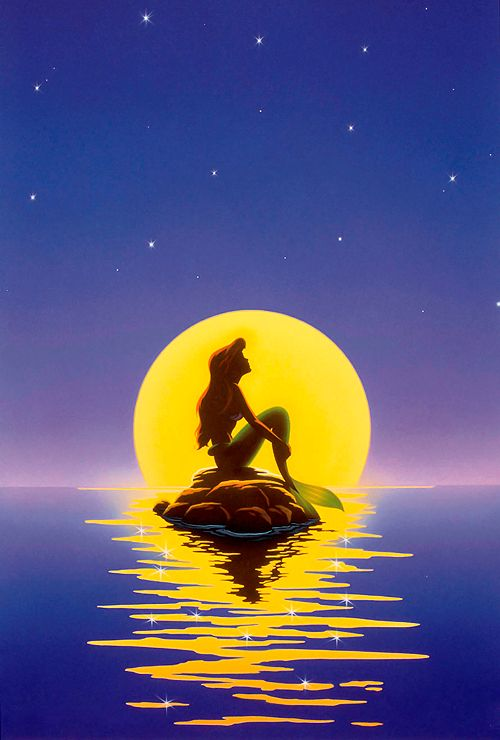 ▣ The Little Mermaid (1989) promotional poster