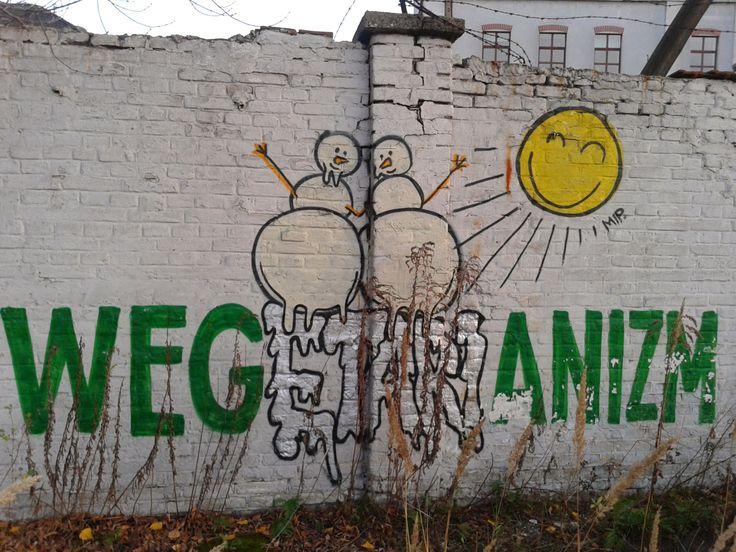 Veganism #vege #healthy #streetart