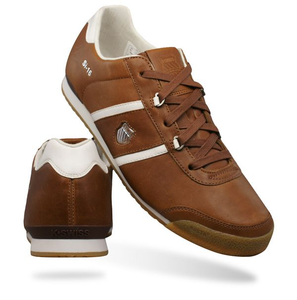 K Swiss SI-16 International Mens Trainers / Shoes - Brown PROMO CODE FOR  10% OFF SPRING10 at galaxysports.co.uk Fashion Footwear #footwear #sports  ...