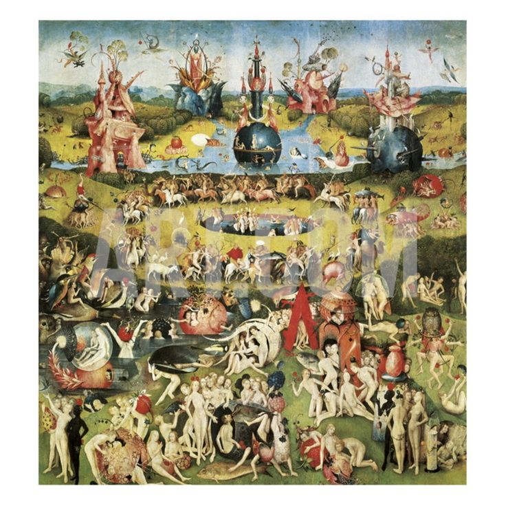 The Garden of Earthly Delights Giclee Print by Hieronymus Bosch at Art.com