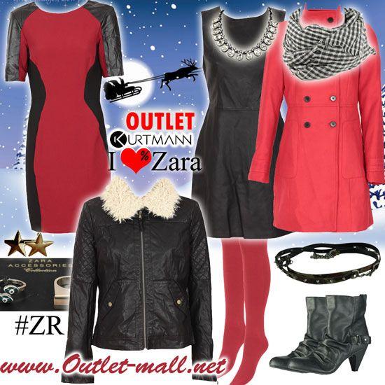 Creaza-ti o tinuta noua de sarbatori din peste 400 de modele noi in outletul #Zara!   Outlet online