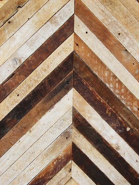 vogue pour déjeuner. #flooring: Interior, Inspiration, Floors, Texture, Chevron Pattern, Wood Pattern, Woods, Material