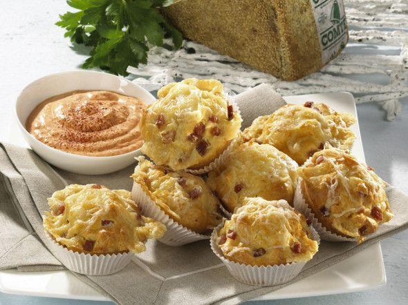Herzhafte Käse-Muffins Rezept