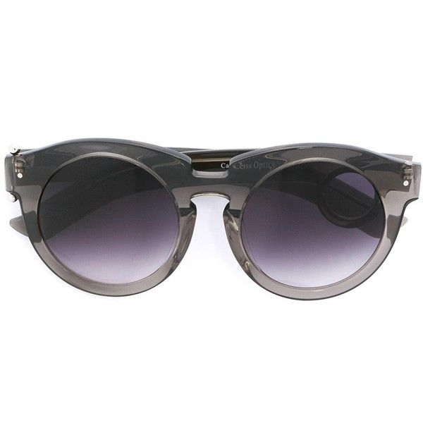 Grey Ant 'Berlin' sunglasses ($385) ❤ liked on Polyvore featuring accessories, eyewear, sunglasses, grey, grey ant, grey ant sunglasses, grey ant glasses, grey sunglasses and gray sunglasses