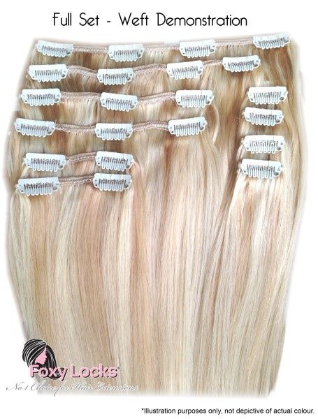 10 best hair extensions images on pinterest beauty products latte blonde regular clip in human hair extensions hair extensions regular foxy locks ltd official site remy clip in human hair extensions the pmusecretfo Image collections