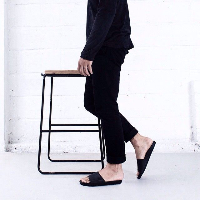 Why don't you just breath, sit back and relax.  Our friend made this multifunction yet  unique barstool, go check their feed! @izemudesign  #hijacksandals #noireproject