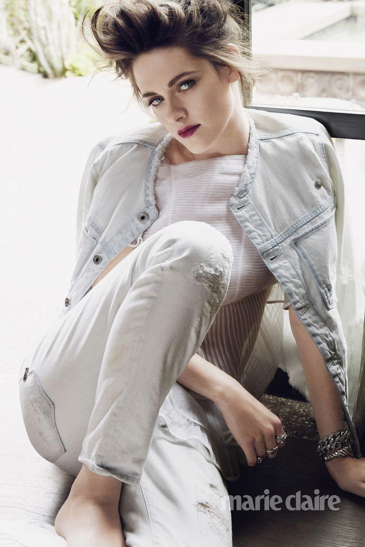 Kristen Stewart. via Marie Claire