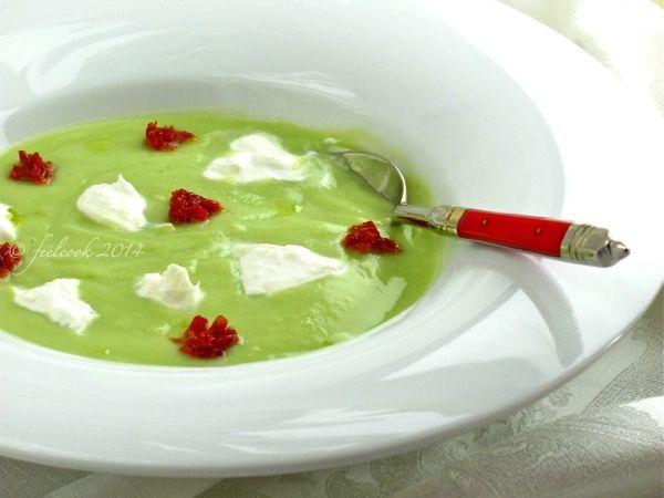 Vellutata di broccolo romanesco --> http://www.petitchef.it/ricette/portata-principale/vellutata-di-broccolo-romanesco-fid-1542633 #antipasto #petitchef #ricetta #vellutata #broccolo