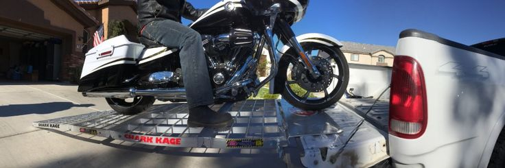 aluminum truck ramps to load your Harley