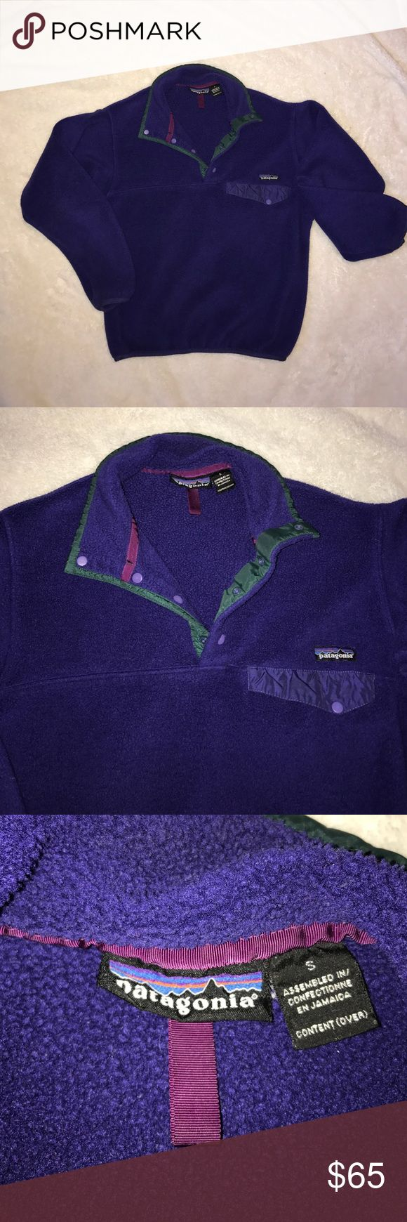 💥QUICK SALE💥Patagonia Snap Fleece Awesome condition, pre loved. Patagonia Jackets & Coats