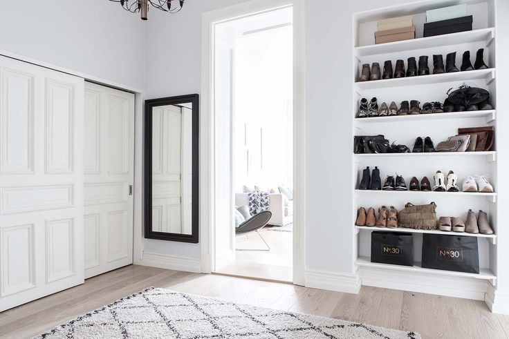 Helles und luftiges skandinavisches Apartment mit zwei Schlafzimmern