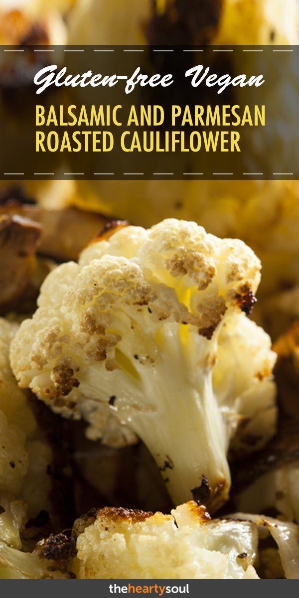 Dieser Balsamico & Parmesan gebratene Blumenkohl macht süchtig   – Plant Based