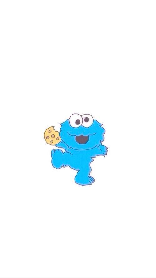Baby Cookie Monster wallpaper